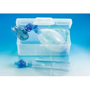 Resuscytator silikonowy w plastikowej walizce
