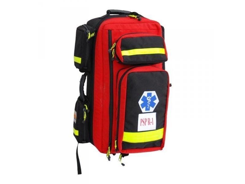 PSP-R1 w plecaku z kpl. szyn Kramera w osobnej torbie