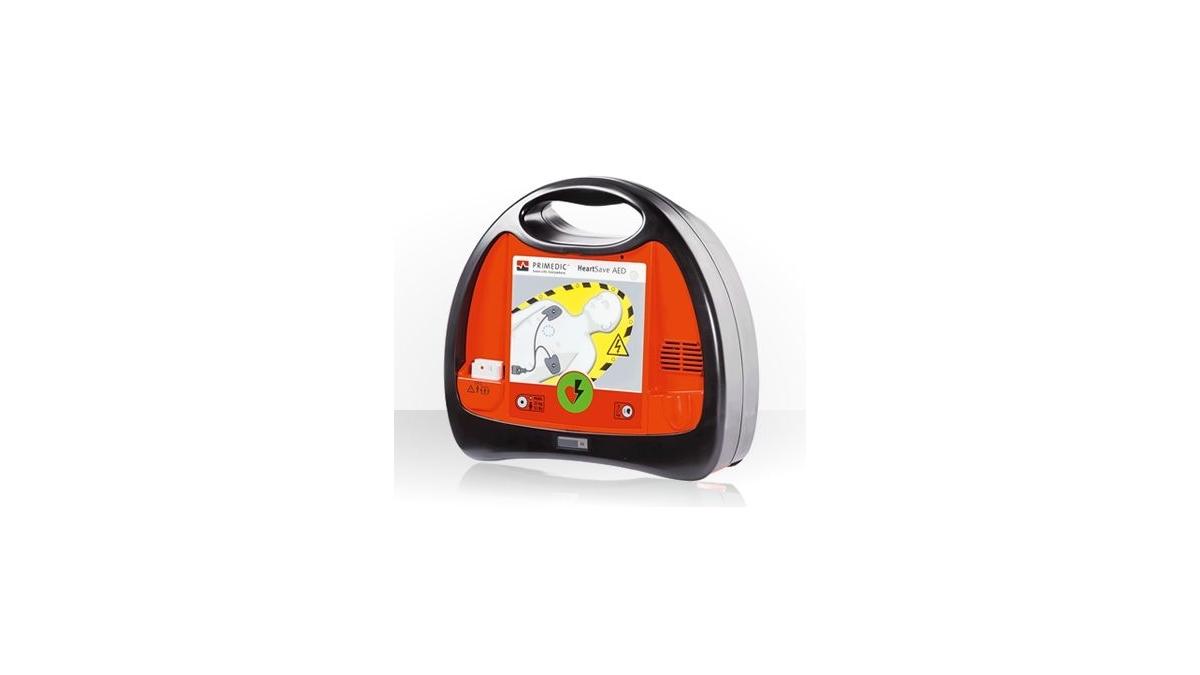 PSP R1 w torbie z kpl. szyn Kramera i defibrylatorem PRIMEDIC HeartSave AED