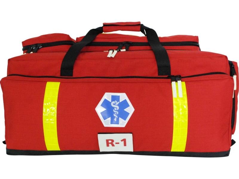 PSP-R1 w torbie z kpl. szyn Kramera i respiratorem transportowym Care Vent ALS+