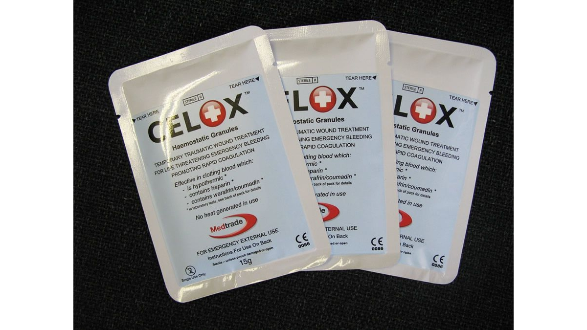 CELOX HEMOSTATIC GRANULES